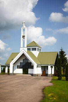 Chapel in Suodziai village Chapel in Suodziai village