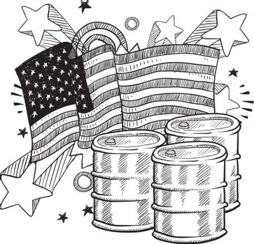 America loves oil