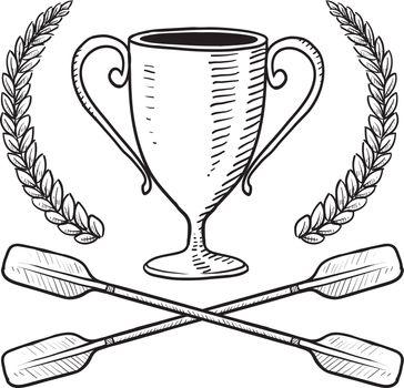 Boating award vector