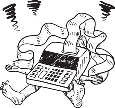 Crushed by accounting vector sketch