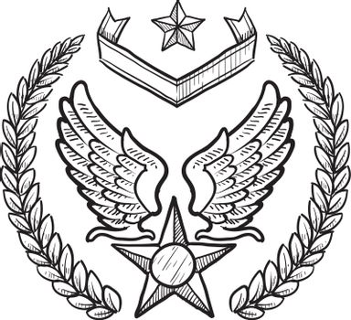 US Air Force vector insignia