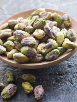 Dish of Pistachio Nuts