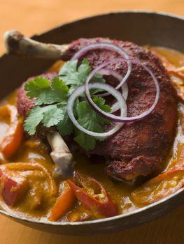 Dish of Makhani Chicken