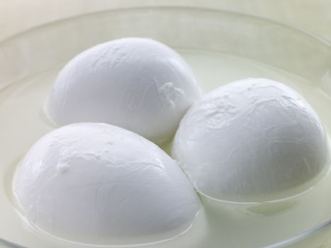 Balls of Buffalo Mozzarella