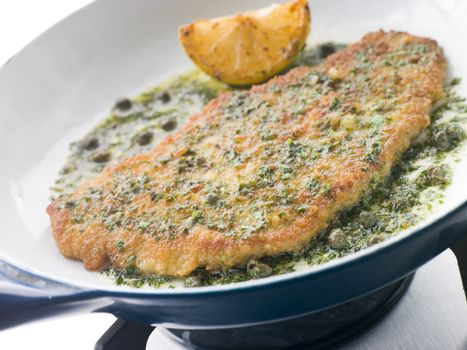 Cotoletta of Veal in a Frying Pan