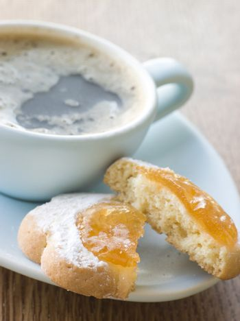 Margherite Biscuit with Espresso