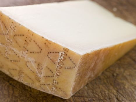 Wedge of Parmesan Cheese