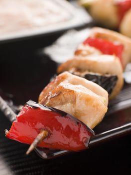 Yakitori Skewer with Sukiyaki Sauce