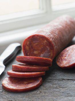 Sliced Chorizo Sausage