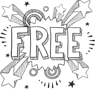 Free retail vector sketch