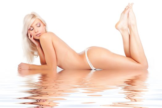 Beautiful bare girl