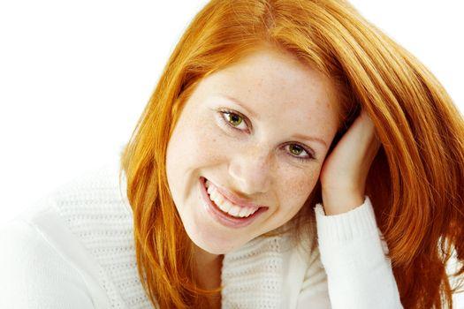 Nice redhead