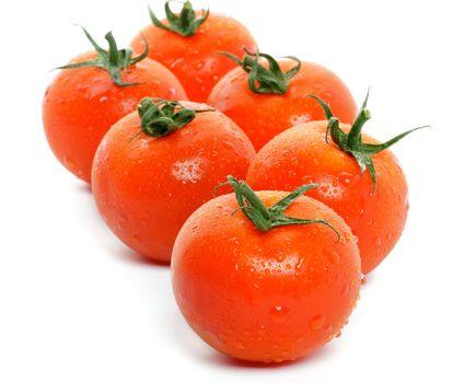 Arrangement of Fresh Tomatoes