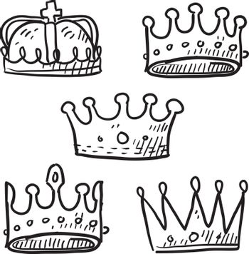 Crown sketches