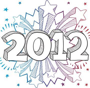 2012 excitement sketch