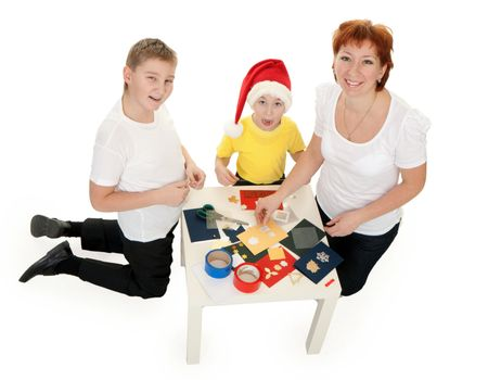 famili involved in scrapbooking