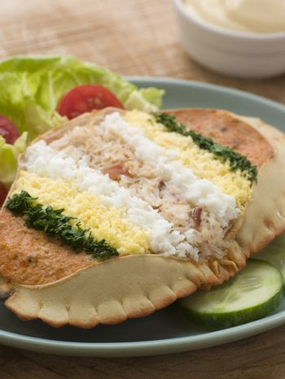 Dressed Cromer Crab with Lemon Mayonnaise