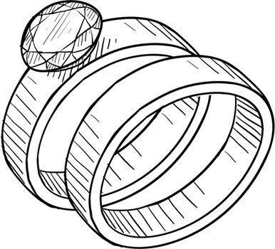 Wedding bands sketch