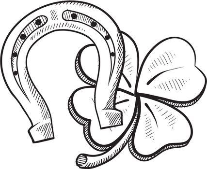 Luck symbols sketch