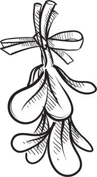 Mistletoe sketch