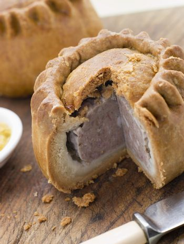 Pork Pie with English Mustard