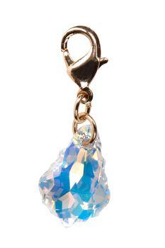 precious suspension of translucent stone