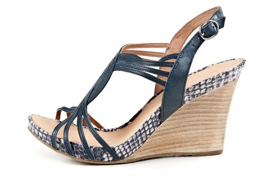 woman's slipper sandals