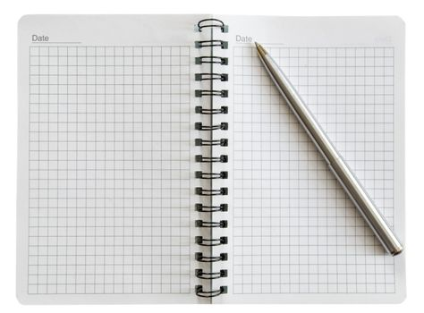 notebook with handle