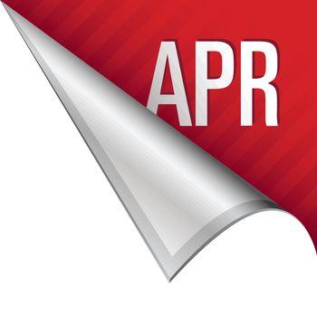 April corner tab