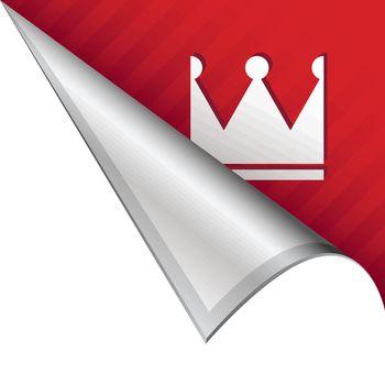 Crown corner tab