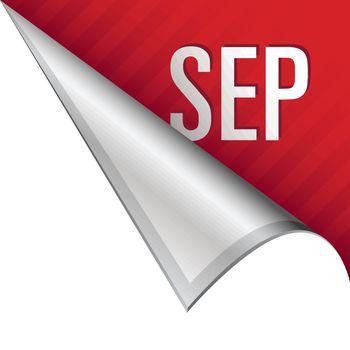September corner tab