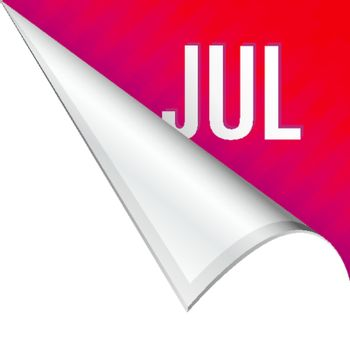 July corner tab