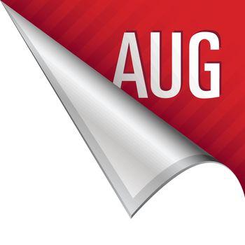August corner tab