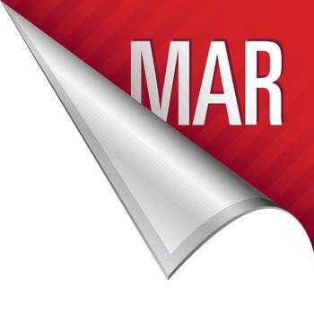 March corner tab