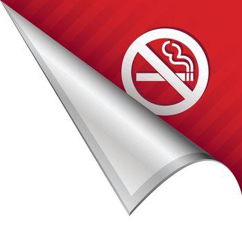 No smoking corner tab