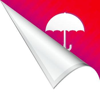 Umbrella corner tab