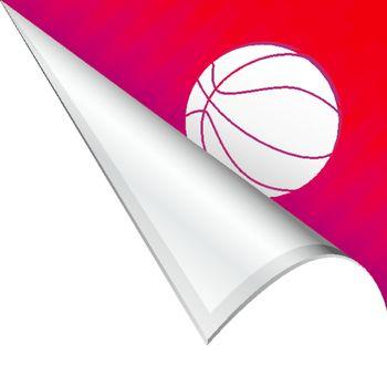 Basketball corner tab
