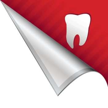Tooth corner tab