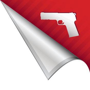 Handgun corner tab