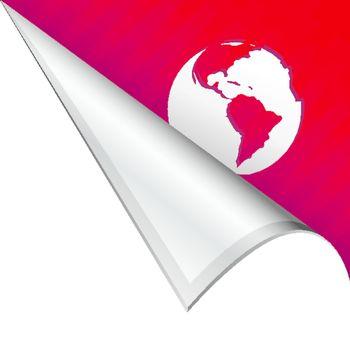 Globe corner tab