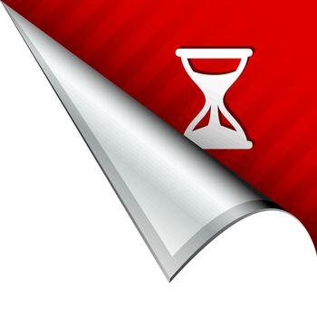 Hourglass corner tab