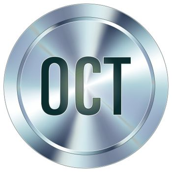 October industrial button