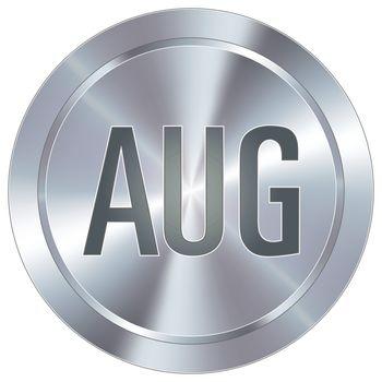 August industrial button