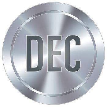December industrial button