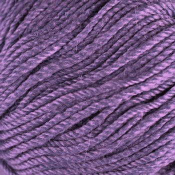 extured purple wool