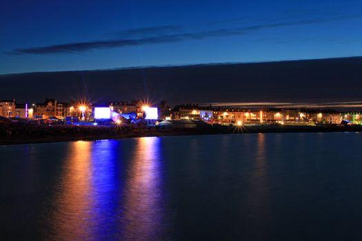 Weymouth seafront celebrations