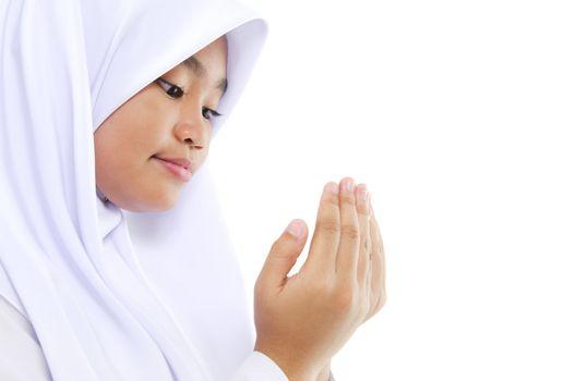 Youth Muslim prayer