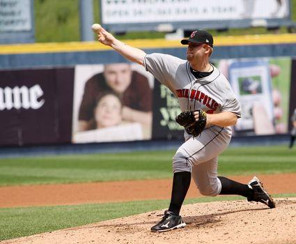 Indianapolis Indians pitcher Blaine Boyer