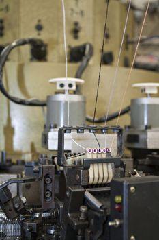 textile looms weaving