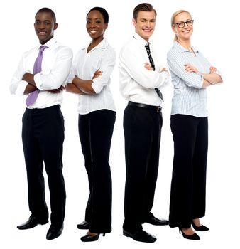 The elite business team